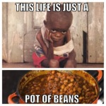 This Life Is Just A Pot Of Beans
